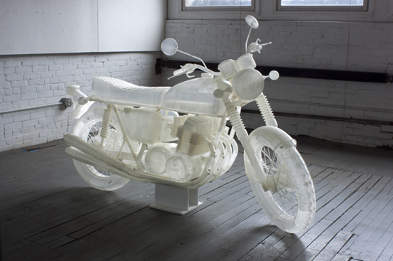 Jonathan Brand 3D Printed Motorcycle-Ultimaker